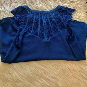 Brixon Ivy Tops - Beautiful royal blue dress top